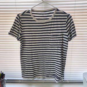 Striped Old Navy Boyfriend Fit T-Shirt